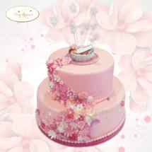 Baby-flower-cake-design