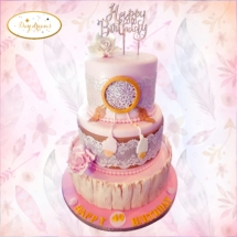 Boheme-chic-cake