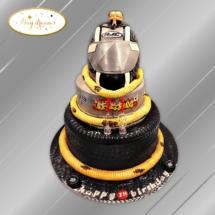 casque-de-moto-cake