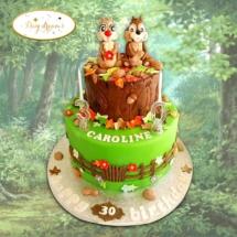 Tic-et-Tac-cake