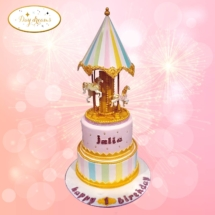 Carrousel-cake