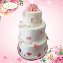 Coeur-wedding-cake