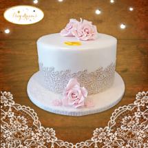 Dentelle-cake-design
