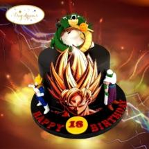 dragon-ball-Z-cake