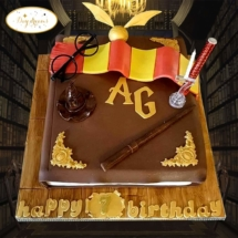 Harry-Potter-livre-cake-design