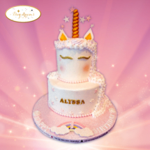 licorne-double-cake-design