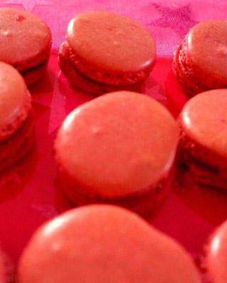 Photos de macarons à la fraise de Day Dreams Cake Designer à Chessy en Seine et Marne 77