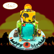le-roi-lion-cake-design